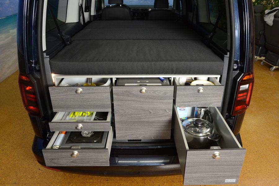 Ford Transit Camper VanEssa Mobilcamping - Camping Ausbau für Deinen Van - T5 ...