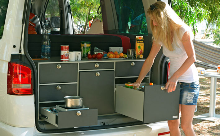 vanessa mobilcamping camping ausbau f r deinen van t5 t6 mercedes u v m vanessa. Black Bedroom Furniture Sets. Home Design Ideas