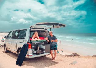 VW Bus in Australien