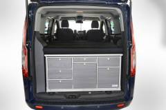 16_VanEssa Ford Tourneo Custom Küche-Bett 2 hinten