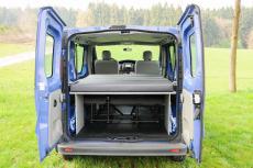 Opel Vivaro A, Renault Trafic, Nissan NV300 Primastart und Fiat Talento