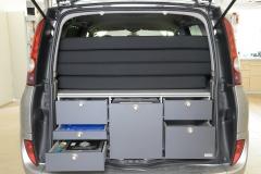 Grand Espace Küchen-Schlafsystem Packzustand