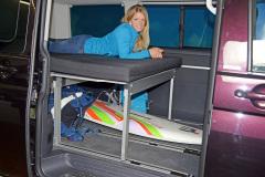 10Schlafsystem Van - Einbau