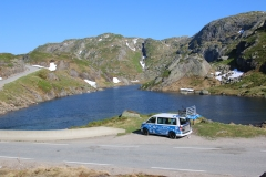 02VW Bus in Norwegen