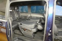 05_Schlafsystem Van im Mercedes Bus