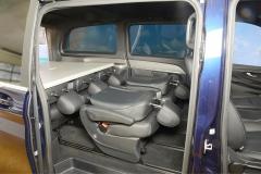 06_Schlafsystem Van im Mercedes Bus