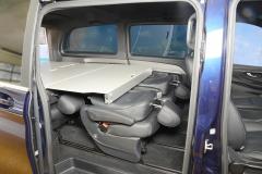 07_Schlafsystem Van im Mercedes Bus
