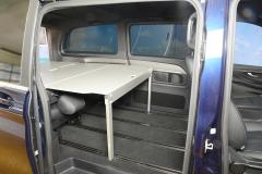 12_Schlafsystem Van im Mercedes Bus