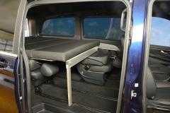 13_Schlafsystem Van im Mercedes Bus