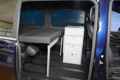 16_Schlafsystem Van im Mercedes Bus