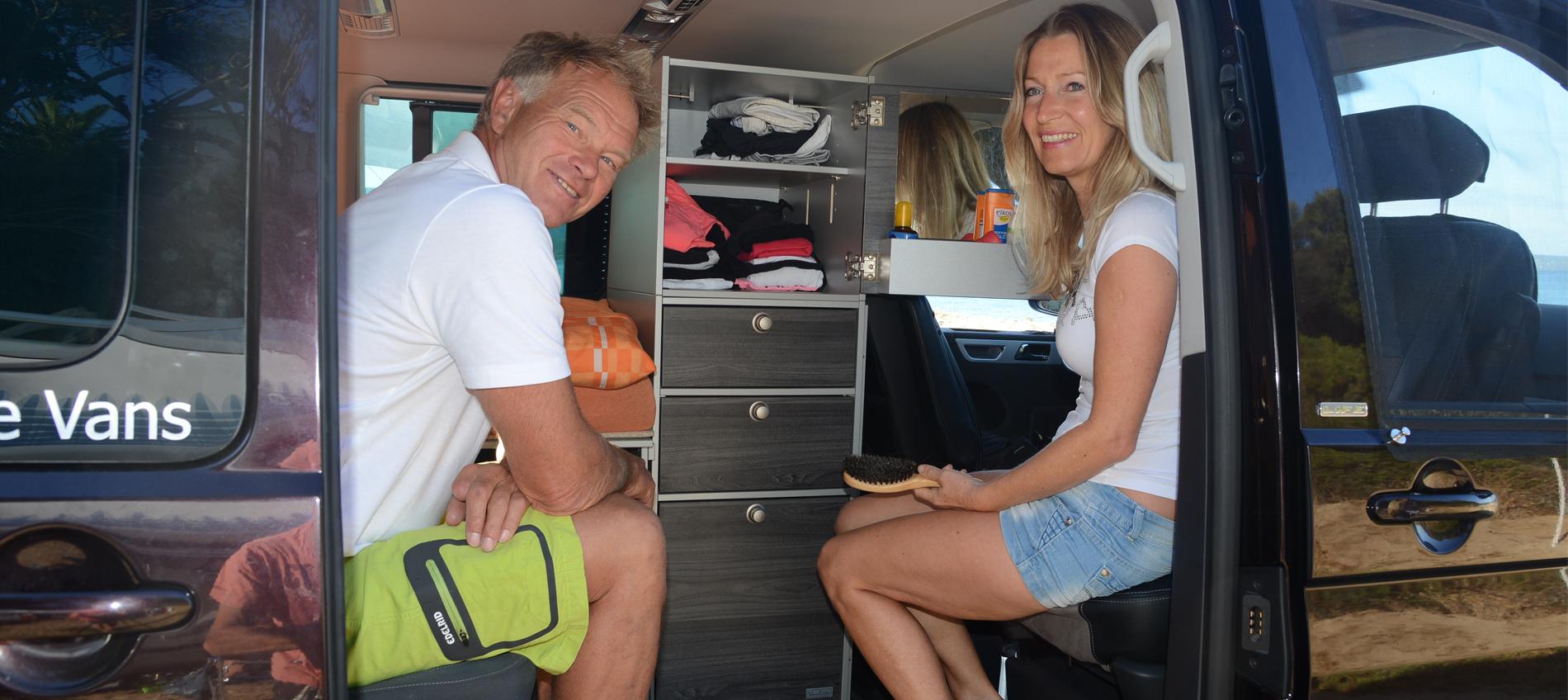Campingbus VanEssa - Innenraum