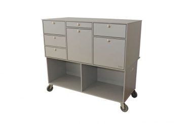 Mounting trolley