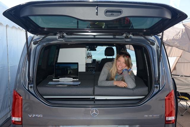 Vanessa Mobilcamping Online Shop Sleeping In Your Mercedes Van